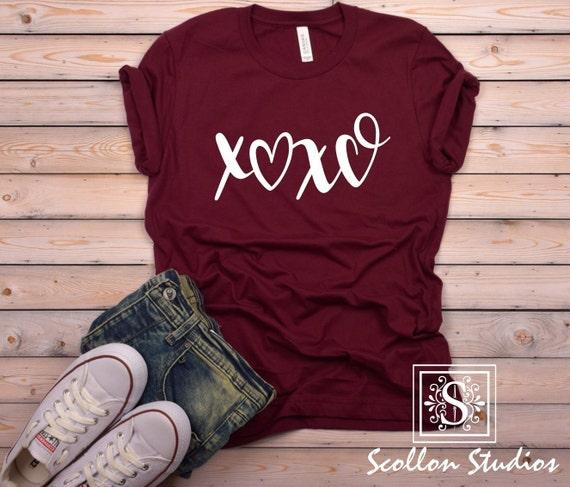 XOXO Bade Valentines Day Short Sleeve t-Shirt