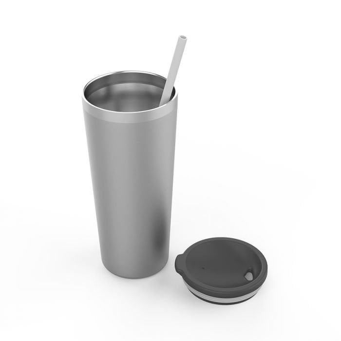 Customized Engraved Maars Skinny 20oz Tumbler with matching