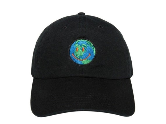 bff50b0e6d02c Travis Scott Astroworld Smiling Spinning Earth Dad Hat