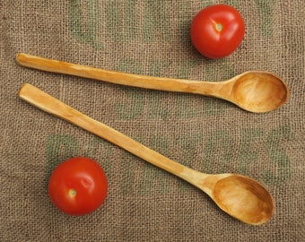 Cherry wood cooking spoon