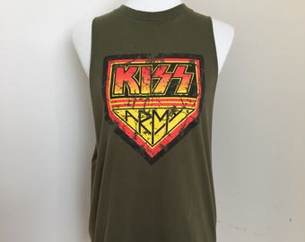 Reworked Kiss Army Tee