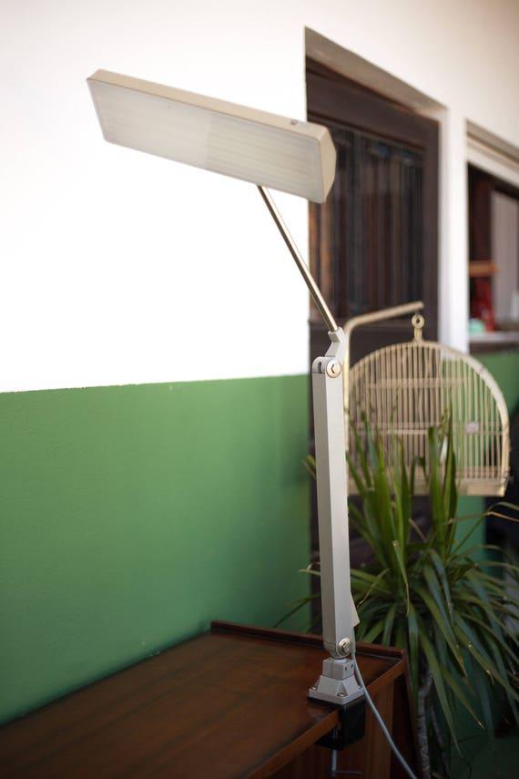 Lampe Waldmann Vintage Lampe Bureau Lampe De Travail Lampe Bras