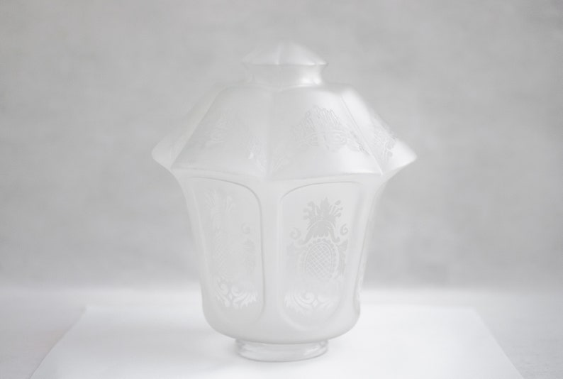 Globe DépoliAbat Jour MotifsLanterne SuspensionLampe frosted Plafond VintageLuminaireVerre Glass VerreAvec De OiZPkXu