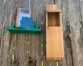 Cedar Owl Box, Owl House, Large Birdhouse