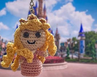 Princess Keychains // Aurora Keychain // Sleeping Beauty // Disney