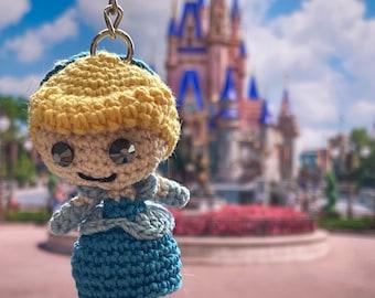 Princess Keychains // Cinderella Keychain // Disney