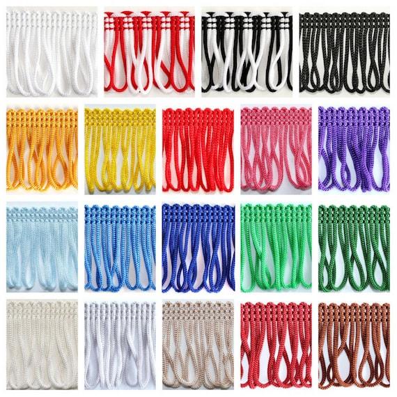 55mm Tassel Fringe Trim Sewing Crafts Trimmings Edging Curtains Cushion