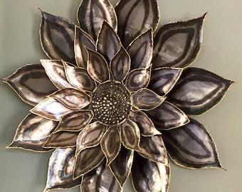 Wall Art - Custom Metal Sunflower