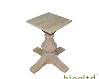 Pedestal Table Base Etsy