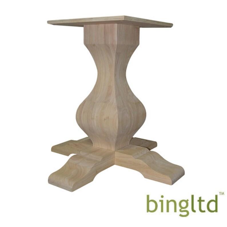 PD-SQ2901-RW-UNF BingLTD \u2013 29 18 Tall Miller Square Pedestal Table Base