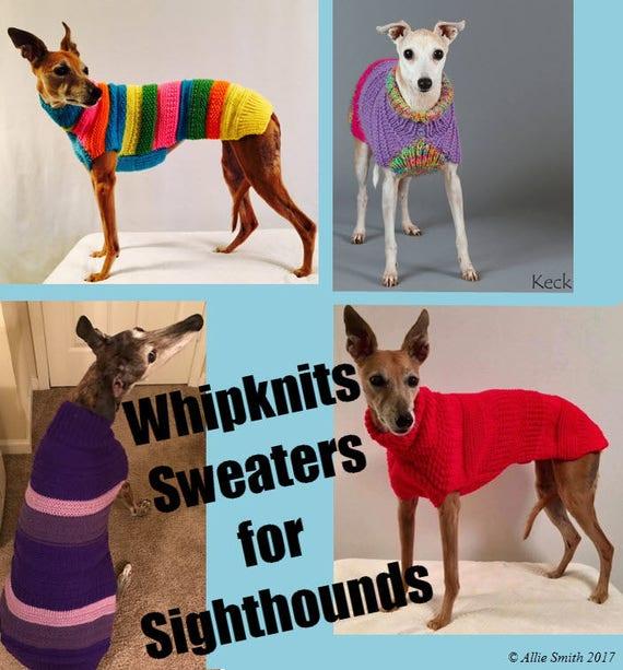 Dog Sweater Knitting Pattern Dog Sweater Pattern Pdf Instant Etsy