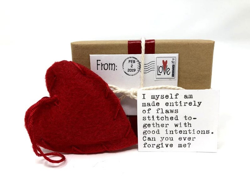 Love letter, Love gift, Romantic card, Romantic Gift, Apology card,  Boyfriend Girlfriend Gift, Sorry Card, Heart Gift, Unique Love Card