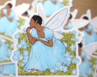 Speedwell Fairy Vinyl Sticker