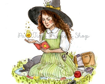 Green Witch Small Print