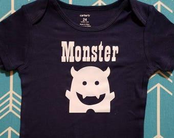 Little Monster Baby Onesie