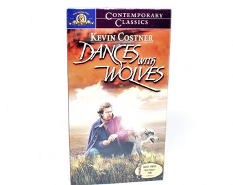 Dances with Wolves VHS Movie ~ Brand New Never Opened VHS