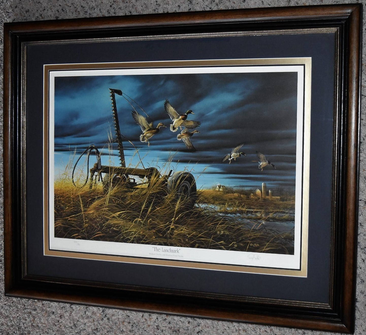 Terry Redlin THE LANDMARK Signed Limited Edition Print 808/960 Dated ...
