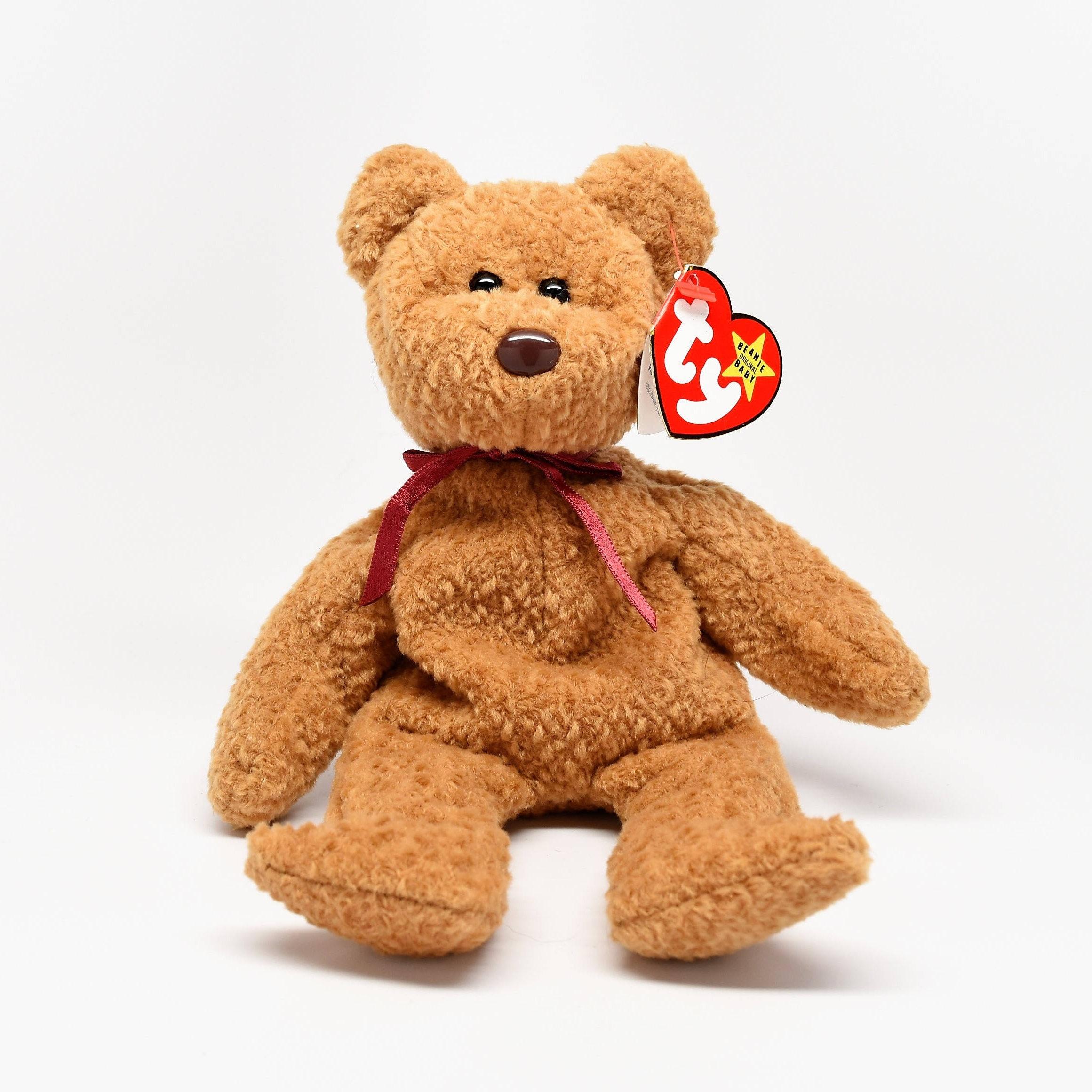 TY RETIRED CURLY Beanie Baby 62b3ebc1884