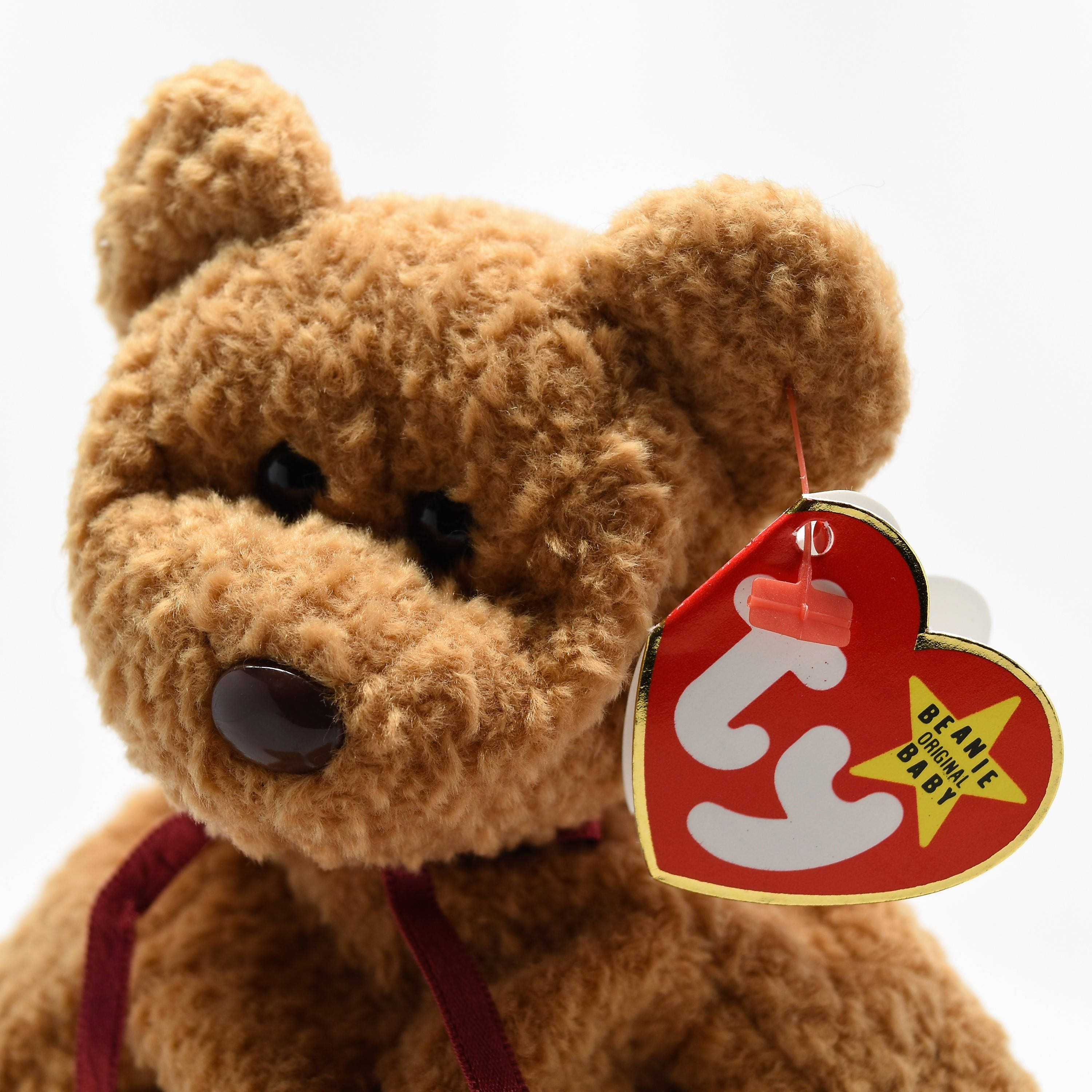 TY RETIRED CURLY Beanie Baby. gallery photo gallery photo ... 563e34fce46