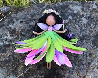 Purple Hawaiian Green Tree Musical Dolls