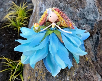 Flower Fairy Dolls with SuitcaseFairy CraftPipe Cleaner DollCraft Kit for KidsDoll Craft KitFairy DollFairy Garden KitFairy Garden