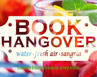 Book Hangover | Soy Candle | Bookish Scent | Bookish Candle | Book Merch | Book Lover Gift | Bookish Gift | Book Nerd | Canterbury Road Co