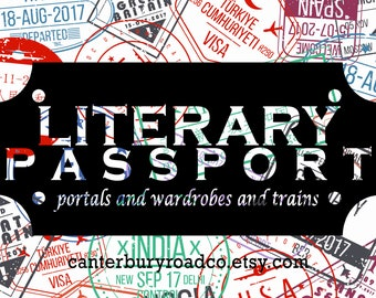 Literary Passport | Book Destinations | Soy Candle | Book Lover Gift | Literary Candle | Bookish Candle | Literary Places | CanterburyRoadCo