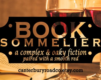Book Sommelier | Soy Candle | Bookish Scent | Bookish Candle | Book Merch | Book Lover Gift | Bookish Gift | Book Nerd | Canterbury Road Co