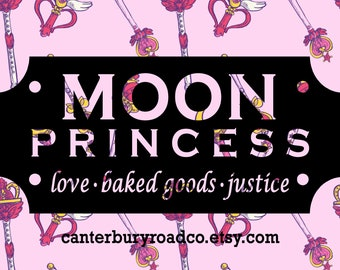 Moon Princess | Fandom Candle | Soy Candle | Pop Culture Candle  | Book Lover Gift | Literary| Bookish Candle | CanterburyRoadCo