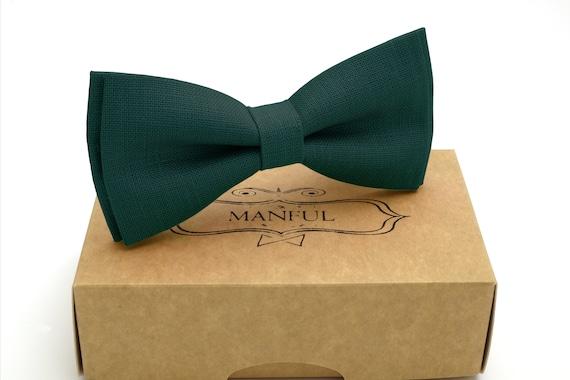 groomsmen necktie kinder fliegen green necktie,brownl color bow tie Brown bow tie noeuds papillone linen necktie