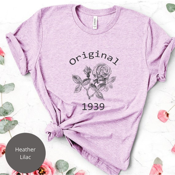 Womens 80th Birthday Shirt Gift Idea Womans