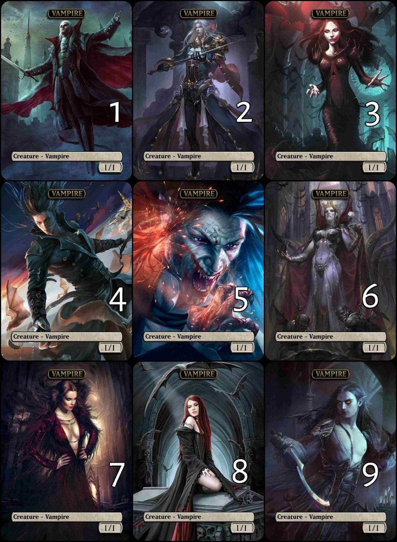 image regarding Printable Mtg Tokens identify MtG Vampire 1/1 for Edgar Markov Token Selection Artwork // Selected the Artwork! - For EDH, Commander, Dice Draft and Everyday MtG Participant