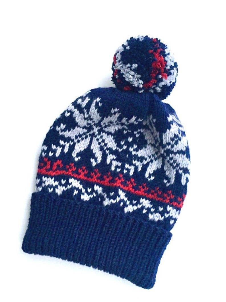 0ae7c3d6235 Winter hats  Childrens knit hat kids pom pom hat  hat with