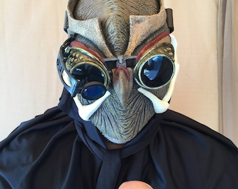Batman Comic Talon Mask and forearm gauntlets