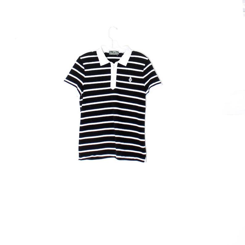 d61a8422f Vintage 90s RALPH LAUREN shirt   ralph lauren POLO shirt black