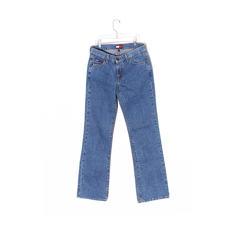9a6a0ba8cef 90s TOMMY HILFIGER JEANS   vintage 90s jeans high waisted jeans straight  leg jeans tommy jeans mid rise jeans ...