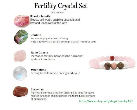 fertility jewelry moonstone jewelry fertility gift fertility gemstone bracelet Fertility moonstone bracelet