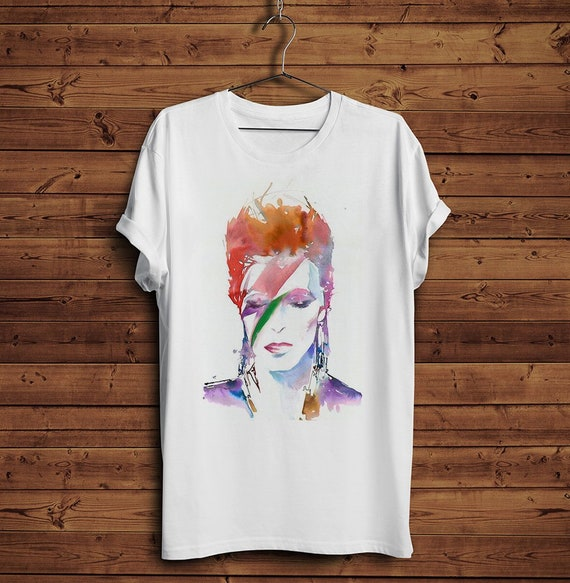 Ziggy Stardust Portrait T-shirt for Men or Women