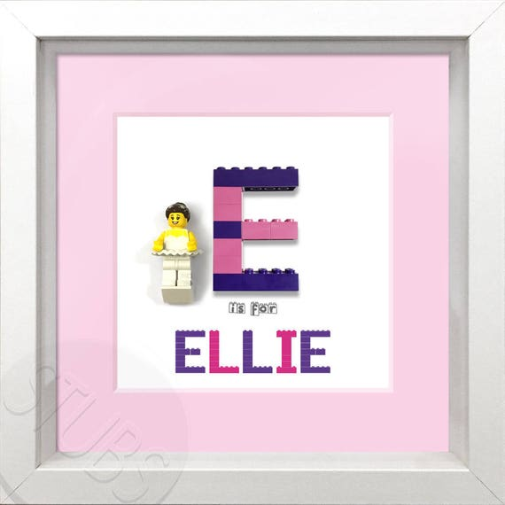 £1 each Personalised LEGO Name Letters NEW