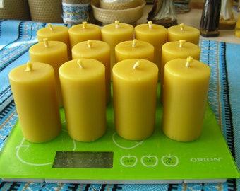 24 votive candles, votive candles, candles votives, beeswax votive candles , beeswax candles