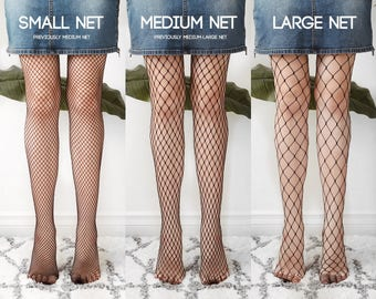 c46ecfb7e06 Black fishnet tights