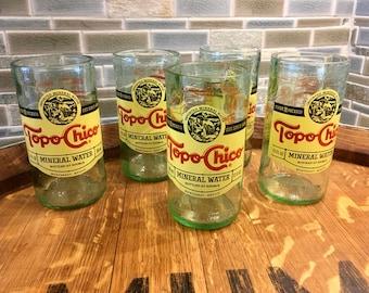 Topo Chico glasses
