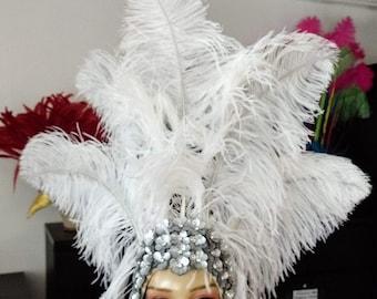 Headdress Frame base for Showgirl Carnival Samba DIY