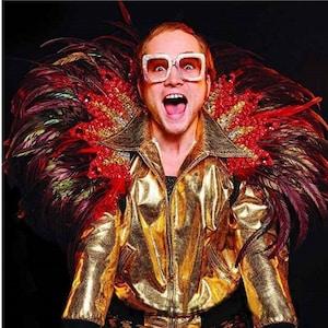 Elton John In Devil Costume