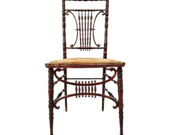 Antique Heywood Brothers U0026 Wakefield Company Victorian Side Chair