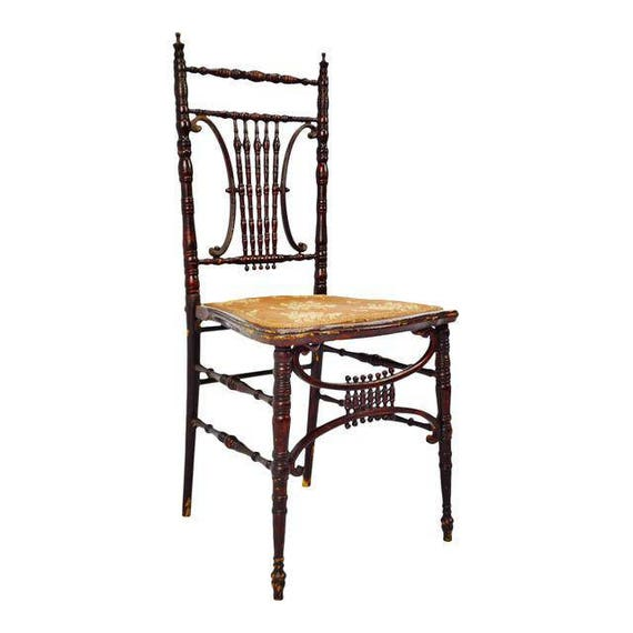 Astounding Antique Heywood Brothers Wakefield Company Victorian Side Chair Ncnpc Chair Design For Home Ncnpcorg