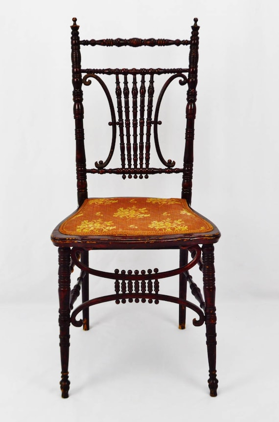 Strange Antique Heywood Brothers Wakefield Company Victorian Side Chair Ncnpc Chair Design For Home Ncnpcorg