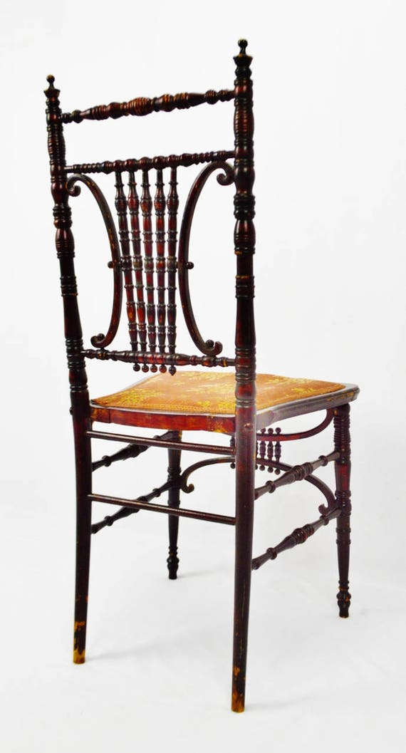 Pleasant Antique Heywood Brothers Wakefield Company Victorian Side Chair Ncnpc Chair Design For Home Ncnpcorg
