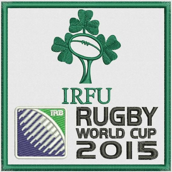 Shamrock Ireland Rugby Team Logo Embroidery Design Etsy
