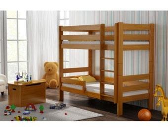 Etagenbett 180 90 : Relita etagenbett michelle buche weiß lackiert cm